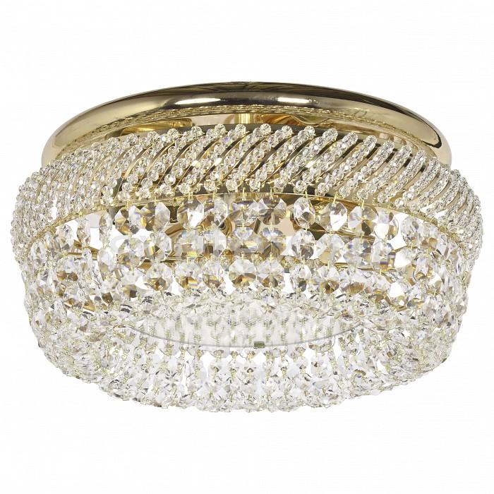 Потолочная люстра Dio D'ArteНе более 4 ламп<br>Артикул - DDA_Bari_E_1.4.35.300_G,Бренд - Dio D'Arte (Италия),Коллекция - Bari,Гарантия, месяцы - 24,Высота, мм - 190,Диаметр, мм - 420,Тип лампы - компактная люминесцентная [КЛЛ] ИЛИнакаливания ИЛИсветодиодная [LED],Общее кол-во ламп - 4,Напряжение питания лампы, В - 220,Максимальная мощность лампы, Вт - 60,Лампы в комплекте - отсутствуют,Цвет плафонов и подвесок - неокрашенный,Тип поверхности плафонов - прозрачный,Материал плафонов и подвесок - хрусталь Swarovski Spectra,Цвет арматуры - золото,Тип поверхности арматуры - глянцевый,Материал арматуры - металл,Возможность подлючения диммера - можно, если установить лампу накаливания,Тип цоколя лампы - E27,Класс электробезопасности - I,Общая мощность, Вт - 240,Степень пылевлагозащиты, IP - 20,Диапазон рабочих температур - комнатная температура,Дополнительные параметры - способ крепления светильника к потолку - на монтажной пластине<br>