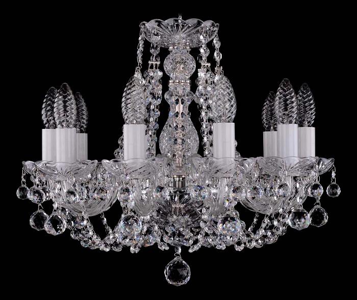 Фото Подвесная люстра Bohemia Ivele Crystal 1406 1406/10/141/Ni/Balls