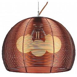 Подвесной светильник ST-LuceС 1 плафоном<br>Артикул - SL512.803.03,Бренд - ST-Luce (Китай),Коллекция - Mandrino,Гарантия, месяцы - 24,Высота, мм - 600-1450,Диаметр, мм - 400,Размер упаковки, мм - 400x400x400,Тип лампы - накаливания,Общее кол-во ламп - 3,Напряжение питания лампы, В - 220,Максимальная мощность лампы, Вт - 60,Лампы в комплекте - накаливания E27,Цвет плафонов и подвесок - коричневый,Тип поверхности плафонов - матовый,Материал плафонов и подвесок - металл,Цвет арматуры - коричневый,Тип поверхности арматуры - матовый,Материал арматуры - металл,Возможность подлючения диммера - можно,Тип цоколя лампы - E27,Класс электробезопасности - I,Общая мощность, Вт - 180,Степень пылевлагозащиты, IP - 20,Диапазон рабочих температур - комнатная температура,Дополнительные параметры - способ крепления светильника к потолку – на крюке, регулируется по высоте<br>