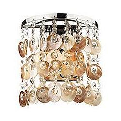 Бра Odeon LightПолимерный плафон<br>Артикул - OD_2488_2W,Бренд - Odeon Light (Италия),Гарантия, месяцы - 24,Время изготовления, дней - 1,Высота, мм - 270,Тип лампы - компактная люминесцентная [КЛЛ] ИЛИнакаливания ИЛИсветодиодная [LED],Общее кол-во ламп - 2,Напряжение питания лампы, В - 220,Максимальная мощность лампы, Вт - 40,Лампы в комплекте - отсутствуют,Цвет плафонов и подвесок - бежевый, неокрашенный,Тип поверхности плафонов - глянцевый, прозрачный,Материал плафонов и подвесок - морская ракушка, хрусталь,Цвет арматуры - хром,Тип поверхности арматуры - глянцевый,Материал арматуры - металл,Возможность подлючения диммера - можно, если установить лампу накаливания,Тип цоколя лампы - E14,Класс электробезопасности - I,Общая мощность, Вт - 80,Степень пылевлагозащиты, IP - 20,Диапазон рабочих температур - комнатная температура,Дополнительные параметры - светильник предназначен для использования со скрытой проводкой<br>
