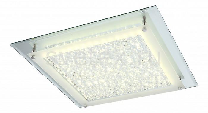 Накладной светильник GloboКвадратные<br>Артикул - GB_49302,Бренд - Globo (Австрия),Коллекция - Liana,Гарантия, месяцы - 24,Длина, мм - 420,Ширина, мм - 420,Высота, мм - 65,Размер упаковки, мм - 440x80x440,Тип лампы - светодиодная [LED],Общее кол-во ламп - 1,Напряжение питания лампы, В - 29.7,Максимальная мощность лампы, Вт - 18,Цвет лампы - белый,Лампы в комплекте - светодиодная [LED],Цвет плафонов и подвесок - неокрашенный с каймой,Тип поверхности плафонов - матовый, прозрачный,Материал плафонов и подвесок - стекло, хрусталь K5,Цвет арматуры - хром,Тип поверхности арматуры - глянцевый,Материал арматуры - металл,Количество плафонов - 1,Возможность подлючения диммера - нельзя,Компоненты, входящие в комплект - трансформатор 29, 7В,Цветовая температура, K - 4000 K,Световой поток, лм - 1620,Экономичнее лампы накаливания - в 6.3 раза,Светоотдача, лм/Вт - 90,Класс электробезопасности - I,Напряжение питания, В - 220,Степень пылевлагозащиты, IP - 20,Диапазон рабочих температур - комнатная температура,Дополнительные параметры - способ крепления светильника к потолку - на монтажной пластине<br>