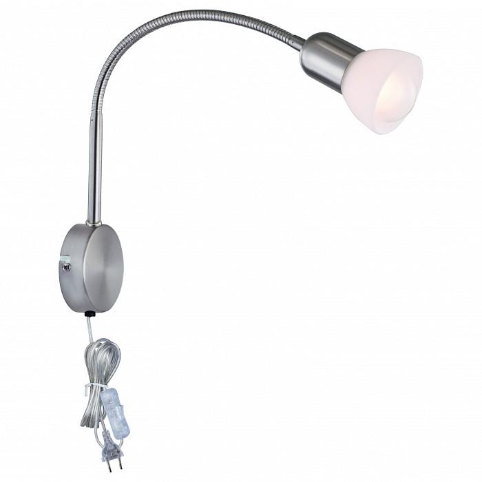 Бра Arte LampСтеклянный плафон<br>Артикул - AR_A3116AP-1SS,Бренд - Arte Lamp (Италия),Коллекция - Falena,Гарантия, месяцы - 24,Ширина, мм - 75,Высота, мм - 540,Выступ, мм - 80,Тип лампы - компактная люминесцентная [КЛЛ] ИЛИнакаливания ИЛИсветодиодная [LED],Общее кол-во ламп - 1,Напряжение питания лампы, В - 220,Максимальная мощность лампы, Вт - 40,Лампы в комплекте - отсутствуют,Цвет плафонов и подвесок - белый,Тип поверхности плафонов - матовый,Материал плафонов и подвесок - стекло,Цвет арматуры - серебро,Тип поверхности арматуры - матовый,Материал арматуры - металл,Количество плафонов - 1,Наличие выключателя, диммера или пульта ДУ - выключатель на проводе,Компоненты, входящие в комплект - провод электропитания с вилкой без заземления,Тип цоколя лампы - E14,Класс электробезопасности - II,Степень пылевлагозащиты, IP - 20,Диапазон рабочих температур - комнатная температура,Дополнительные параметры - способ крепления светильника к стене - на монтажной пластине<br>