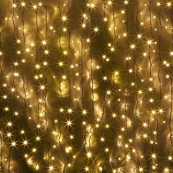 Занавес световой Мастерская Деда МорозаЗанавесы световые<br>Артикул - MD_LED0600WW,Бренд - Мастерская Деда Мороза (Россия),Высота, мм - 2000,Тип лампы - светодиодные [LED],Общее кол-во ламп - 600,Напряжение питания лампы, В - 220,Лампы в комплекте - светодиодные [LED],Форма и тип колбы - точечная,Класс электробезопасности - II,Диапазон рабочих температур - комнатная температура<br>