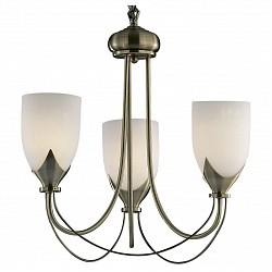 Подвесная люстра Odeon LightНе более 4 ламп<br>Артикул - OD_2079_3,Бренд - Odeon Light (Италия),Коллекция - Risto,Гарантия, месяцы - 24,Высота, мм - 360,Диаметр, мм - 415,Тип лампы - компактная люминесцентная [КЛЛ] ИЛИнакаливания ИЛИсветодиодная [LED],Общее кол-во ламп - 3,Напряжение питания лампы, В - 220,Максимальная мощность лампы, Вт - 60,Лампы в комплекте - отсутствуют,Цвет плафонов и подвесок - белый,Тип поверхности плафонов - матовый,Материал плафонов и подвесок - стекло,Цвет арматуры - бронза,Тип поверхности арматуры - глянцевый,Материал арматуры - металл,Возможность подлючения диммера - можно, если установить лампу накаливания,Тип цоколя лампы - E14,Класс электробезопасности - I,Общая мощность, Вт - 180,Степень пылевлагозащиты, IP - 20,Диапазон рабочих температур - комнатная температура,Дополнительные параметры - указана высота светильника без подвеса<br>