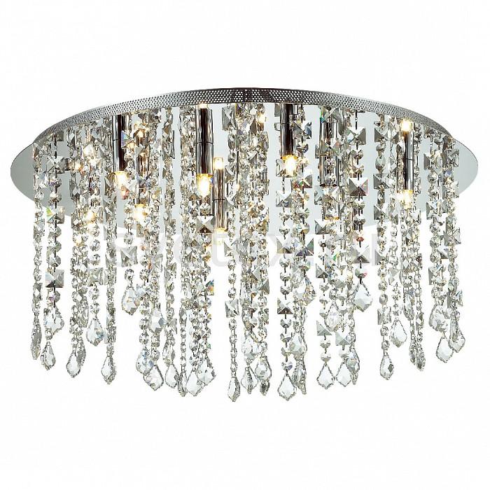 Накладной светильник FavouriteНакладные светильники<br>Артикул - FV_1684-12C,Бренд - Favourite (Германия),Коллекция - Rain,Гарантия, месяцы - 24,Высота, мм - 340,Диаметр, мм - 600,Тип лампы - галогеновая,Общее кол-во ламп - 12,Напряжение питания лампы, В - 220,Максимальная мощность лампы, Вт - 40,Цвет лампы - белый теплый,Лампы в комплекте - галогеновые G9,Цвет плафонов и подвесок - неокрашенный,Тип поверхности плафонов - прозрачный, рельефный,Материал плафонов и подвесок - хрусталь,Цвет арматуры - хром,Тип поверхности арматуры - глянцевый,Материал арматуры - металл,Возможность подлючения диммера - можно,Форма и тип колбы - пальчиковая,Тип цоколя лампы - G9,Цветовая температура, K - 3000 K,Экономичнее лампы накаливания - на 50%,Класс электробезопасности - I,Общая мощность, Вт - 480,Степень пылевлагозащиты, IP - 20,Диапазон рабочих температур - комнатная температура,Дополнительные параметры - способ крепления светильника к потолку - на монтажной пластине<br>