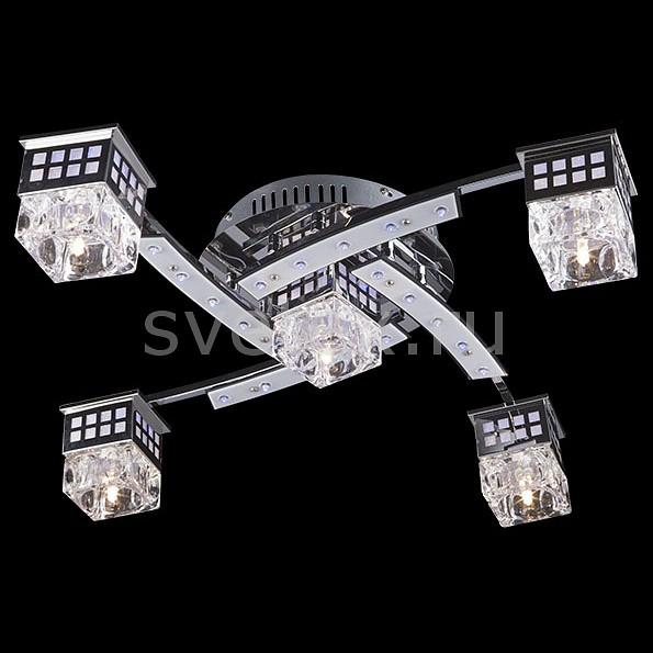 Потолочная люстра EurosvetМеталлические плафоны<br>Артикул - EV_6729,Бренд - Eurosvet (Китай),Коллекция - 4939,Гарантия, месяцы - 24,Время изготовления, дней - 1,Высота, мм - 130,Диаметр, мм - 600,Тип лампы - галогеновая,Общее кол-во ламп - 5,Напряжение питания лампы, В - 12,Максимальная мощность лампы, Вт - 20,Цвет лампы - белый теплый,Лампы в комплекте - галогеновые G4,Цвет плафонов и подвесок - неокрашенный,Тип поверхности плафонов - прозрачный,Материал плафонов и подвесок - стекло, металл,Цвет арматуры - хром,Тип поверхности арматуры - глянцевый,Материал арматуры - металл,Количество плафонов - 5,Наличие выключателя, диммера или пульта ДУ - пульт ДУ,Возможность подлючения диммера - нельзя,Компоненты, входящие в комплект - трансформатор 12В,Форма и тип колбы - пальчиковая,Тип цоколя лампы - G4,Цветовая температура, K - 2800 - 3200 K,Напряжение питания, В - 220,Общая мощность, Вт - 100,Степень пылевлагозащиты, IP - 20,Диапазон рабочих температур - комнатная температура,Дополнительные параметры - светильник декорирован 44 RGB светодиодами общей мощностью 5.72 Вт<br>