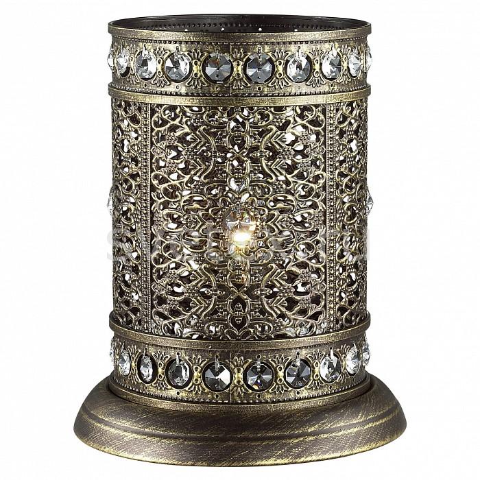Настольная лампа декоративная FavouriteСветильники<br>Артикул - FV_1626-1T,Бренд - Favourite (Германия),Коллекция - Karma,Гарантия, месяцы - 24,Высота, мм - 250,Диаметр, мм - 200,Тип лампы - компактная люминесцентная [КЛЛ] ИЛИнакаливания ИЛИсветодиодная [LED],Общее кол-во ламп - 1,Напряжение питания лампы, В - 220,Максимальная мощность лампы, Вт - 40,Лампы в комплекте - отсутствуют,Цвет плафонов и подвесок - коричневый, неокрашенный,Тип поверхности плафонов - матовый, прозрачный,Материал плафонов и подвесок - металл, хрусталь,Цвет арматуры - коричневый,Тип поверхности арматуры - матовый,Материал арматуры - металл,Количество плафонов - 1,Наличие выключателя, диммера или пульта ДУ - выключатель на проводе,Компоненты, входящие в комплект - провод электропитания с вилкой без заземления,Тип цоколя лампы - E14,Класс электробезопасности - II,Степень пылевлагозащиты, IP - 20,Диапазон рабочих температур - комнатная температура<br>