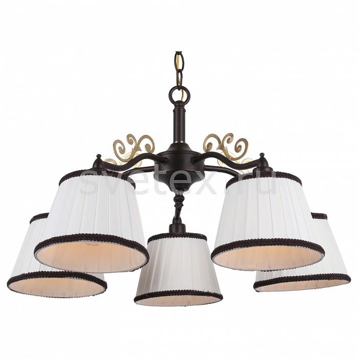 Подвесная люстра Arte LampСветильники<br>Артикул - AR_A6344LM-5BR,Бренд - Arte Lamp (Италия),Коллекция - Capri,Гарантия, месяцы - 24,Высота, мм - 310-710,Диаметр, мм - 550,Размер упаковки, мм - 300x280x195,Тип лампы - компактная люминесцентная [КЛЛ] ИЛИнакаливания ИЛИсветодиодная [LED],Общее кол-во ламп - 5,Напряжение питания лампы, В - 220,Максимальная мощность лампы, Вт - 40,Лампы в комплекте - отсутствуют,Цвет плафонов и подвесок - белый,Тип поверхности плафонов - матовый,Материал плафонов и подвесок - текстиль,Цвет арматуры - коричневый,Тип поверхности арматуры - матовый,Материал арматуры - металл,Количество плафонов - 5,Возможность подлючения диммера - можно, если установить лампу накаливания,Тип цоколя лампы - E14,Класс электробезопасности - I,Общая мощность, Вт - 200,Степень пылевлагозащиты, IP - 20,Диапазон рабочих температур - комнатная температура,Дополнительные параметры - способ крепления светильника к потолку – на монтажной пластине<br>