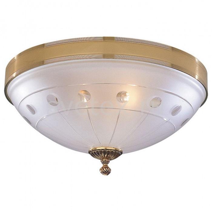 Накладной светильник Reccagni AngeloКруглые<br>Артикул - RA_PL_4750_3,Бренд - Reccagni Angelo (Италия),Коллекция - 4750,Гарантия, месяцы - 24,Высота, мм - 170,Диаметр, мм - 400,Тип лампы - компактная люминесцентная [КЛЛ] ИЛИнакаливания ИЛИсветодиодная [LED],Общее кол-во ламп - 3,Напряжение питания лампы, В - 220,Максимальная мощность лампы, Вт - 60,Лампы в комплекте - отсутствуют,Цвет плафонов и подвесок - белый с рисунком,Тип поверхности плафонов - матовый,Материал плафонов и подвесок - стекло,Цвет арматуры - золото французское,Тип поверхности арматуры - глянцевый,Материал арматуры - латунь,Количество плафонов - 1,Возможность подлючения диммера - можно, если установить лампу накаливания,Тип цоколя лампы - E27,Класс электробезопасности - I,Общая мощность, Вт - 180,Степень пылевлагозащиты, IP - 20,Диапазон рабочих температур - комнатная температура,Дополнительные параметры - способ крепления светильника к потолку - на монтажной пластине<br>
