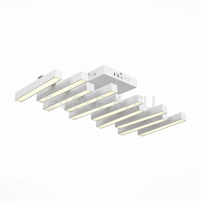 Потолочная люстра ST-LuceПолимерные плафоны<br>Артикул - SL933.502.10,Бренд - ST-Luce (Китай),Коллекция - Samento,Гарантия, месяцы - 24,Длина, мм - 660,Ширина, мм - 300,Высота, мм - 180,Размер упаковки, мм - 700x350x170,Тип лампы - светодиодная [LED],Общее кол-во ламп - 10,Максимальная мощность лампы, Вт - 6,Цвет лампы - белый,Лампы в комплекте - светодиодные [LED],Цвет плафонов и подвесок - белый,Тип поверхности плафонов - матовый,Материал плафонов и подвесок - акрил,Цвет арматуры - белый,Тип поверхности арматуры - матовый,Материал арматуры - металл,Количество плафонов - 10,Возможность подлючения диммера - нельзя,Цветовая температура, K - 4000 K,Экономичнее лампы накаливания - в 10 раз,Класс электробезопасности - I,Напряжение питания, В - 220,Общая мощность, Вт - 60,Степень пылевлагозащиты, IP - 20,Диапазон рабочих температур - комнатная температура,Дополнительные параметры - способ крепления светильника к потолку - на монтажной пластине<br>