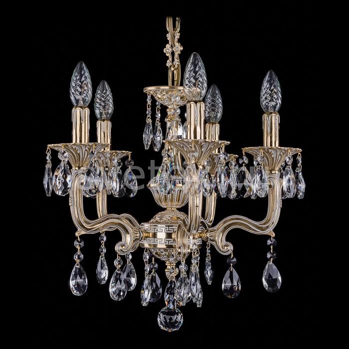 Фото Подвесная люстра Bohemia Ivele Crystal 1704 1704/5/110/A/GW