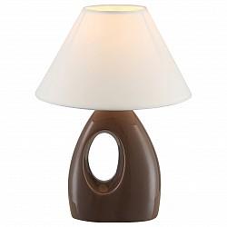 Настольная лампа GloboС абажуром<br>Артикул - GB_21672,Бренд - Globo (Австрия),Коллекция - Sonja,Гарантия, месяцы - 24,Высота, мм - 260,Диаметр, мм - 200,Размер упаковки, мм - 260x120x225,Тип лампы - компактная люминесцентная [КЛЛ] ИЛИнакаливания ИЛИсветодиодная [LED],Общее кол-во ламп - 1,Напряжение питания лампы, В - 220,Максимальная мощность лампы, Вт - 40,Лампы в комплекте - отсутствуют,Цвет плафонов и подвесок - белый,Тип поверхности плафонов - матовый,Материал плафонов и подвесок - текстиль,Цвет арматуры - синий,Тип поверхности арматуры - матовый,Материал арматуры - керамика, металл, полимер,Тип цоколя лампы - E14,Класс электробезопасности - II,Степень пылевлагозащиты, IP - 20,Диапазон рабочих температур - комнатная температура<br>
