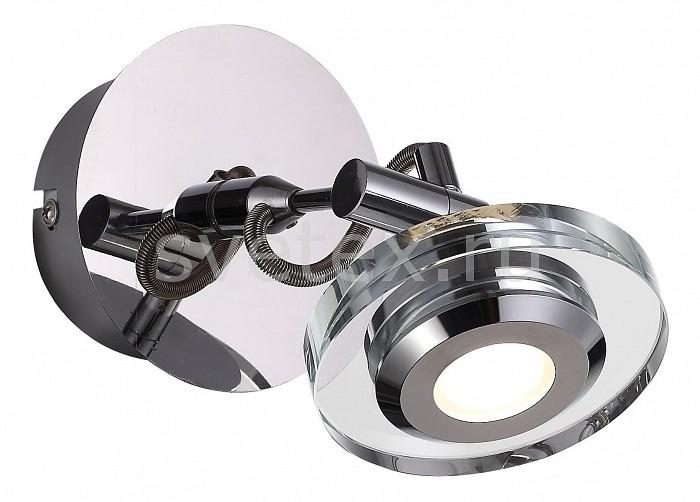 Спот ST-LuceСпоты<br>Артикул - SL569.101.01,Бренд - ST-Luce (Италия),Коллекция - Vedette,Гарантия, месяцы - 24,Время изготовления, дней - 1,Длина, мм - 135,Ширина, мм - 115,Выступ, мм - 170,Тип лампы - светодиодная [LED],Общее кол-во ламп - 1,Напряжение питания лампы, В - 220,Максимальная мощность лампы, Вт - 3,Цвет лампы - белый,Лампы в комплекте - светодиодная [LED],Цвет плафонов и подвесок - неокрашенный, хром,Тип поверхности плафонов - глянцевый, прозрачный,Материал плафонов и подвесок - металл, стекло,Цвет арматуры - хром,Тип поверхности арматуры - глянцевый,Материал арматуры - металл,Количество плафонов - 1,Возможность подлючения диммера - нельзя,Цветовая температура, K - 4000 K,Класс электробезопасности - I,Степень пылевлагозащиты, IP - 20,Диапазон рабочих температур - комнатная температура,Дополнительные параметры - поворотный светильник<br>