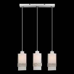 Подвесной светильник EurosvetСветодиодные<br>Артикул - EV_73896,Бренд - Eurosvet (Китай),Коллекция - 50021,Гарантия, месяцы - 24,Высота, мм - 800,Диаметр, мм - 100,Тип лампы - компактная люминесцентная [КЛЛ] ИЛИнакаливания ИЛИсветодиодная [LED],Общее кол-во ламп - 3,Напряжение питания лампы, В - 220,Максимальная мощность лампы, Вт - 60,Лампы в комплекте - отсутствуют,Цвет плафонов и подвесок - белый с орнаментом,Тип поверхности плафонов - матовый,Материал плафонов и подвесок - металл, стекло,Цвет арматуры - белый с золотой патиной,Тип поверхности арматуры - матовый, рельфный,Материал арматуры - металл,Количество плафонов - 3,Возможность подлючения диммера - можно, если установить лампу накаливания,Тип цоколя лампы - E27,Класс электробезопасности - I,Общая мощность, Вт - 180,Степень пылевлагозащиты, IP - 20,Диапазон рабочих температур - комнатная температура,Дополнительные параметры - способ крепления светильника к потолку - на монтажной пластине, регулируется по высоте<br>