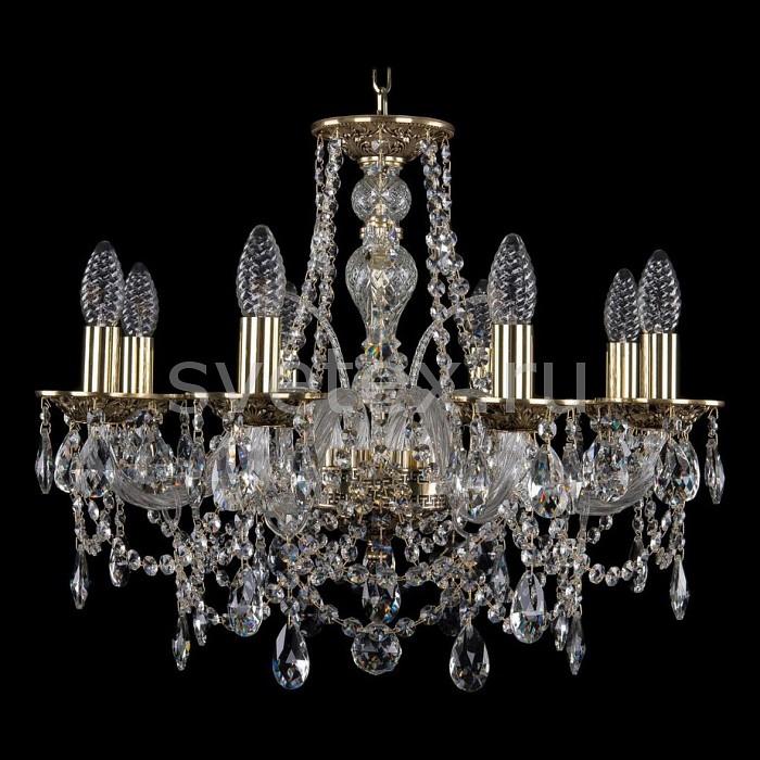 Подвесная люстра Bohemia Ivele CrystalБолее 6 ламп<br>Артикул - BI_1611_8_195_GB,Бренд - Bohemia Ivele Crystal (Чехия),Коллекция - 1611,Гарантия, месяцы - 24,Высота, мм - 450,Диаметр, мм - 570,Размер упаковки, мм - 450x450x200,Тип лампы - компактная люминесцентная [КЛЛ] ИЛИнакаливания ИЛИсветодиодная [LED],Общее кол-во ламп - 8,Напряжение питания лампы, В - 220,Максимальная мощность лампы, Вт - 40,Лампы в комплекте - отсутствуют,Цвет плафонов и подвесок - неокрашенный,Тип поверхности плафонов - прозрачный,Материал плафонов и подвесок - хрусталь,Цвет арматуры - золото черненое, неокрашенный,Тип поверхности арматуры - глянцевый, прозрачный, рельефный,Материал арматуры - латунь, стекло,Возможность подлючения диммера - можно, если установить лампу накаливания,Форма и тип колбы - свеча ИЛИ свеча на ветру,Тип цоколя лампы - E14,Класс электробезопасности - I,Общая мощность, Вт - 320,Степень пылевлагозащиты, IP - 20,Диапазон рабочих температур - комнатная температура,Дополнительные параметры - способ крепления светильника к потолку - на крюке, указана высота светильника без подвеса<br>