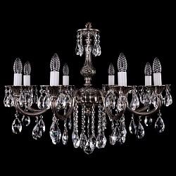 Подвесная люстра Bohemia Ivele CrystalБолее 6 ламп<br>Артикул - BI_1702_8_B_NB,Бренд - Bohemia Ivele Crystal (Чехия),Коллекция - 1702,Гарантия, месяцы - 12,Высота, мм - 600,Диаметр, мм - 700,Размер упаковки, мм - 640x640x320,Тип лампы - компактная люминесцентная [КЛЛ] ИЛИнакаливания ИЛИсветодиодная [LED],Общее кол-во ламп - 8,Напряжение питания лампы, В - 220,Максимальная мощность лампы, Вт - 40,Лампы в комплекте - отсутствуют,Цвет плафонов и подвесок - неокрашенный,Тип поверхности плафонов - прозрачный,Материал плафонов и подвесок - хрусталь,Цвет арматуры - никель черненый,Тип поверхности арматуры - глянцевый, рельефный,Материал арматуры - металл,Возможность подлючения диммера - можно, если установить лампу накаливания,Форма и тип колбы - свеча ИЛИ свеча на ветру,Тип цоколя лампы - E14,Класс электробезопасности - I,Общая мощность, Вт - 320,Степень пылевлагозащиты, IP - 20,Диапазон рабочих температур - комнатная температура,Дополнительные параметры - способ крепления светильника к потолку – на крюке<br>