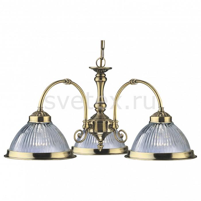 Фото Подвесная люстра Arte Lamp American Diner A9366LM-3AB