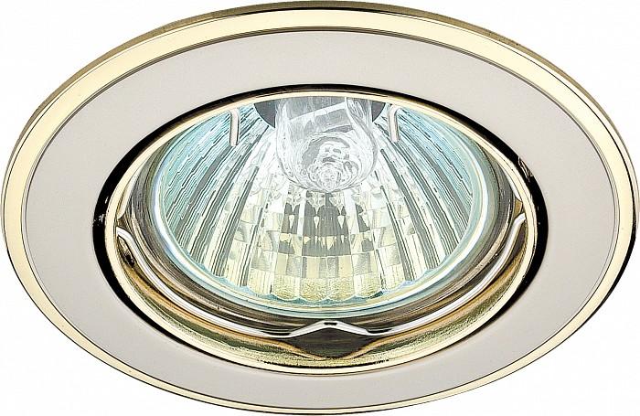 Фото Встраиваемый светильник Novotech Crown 369105