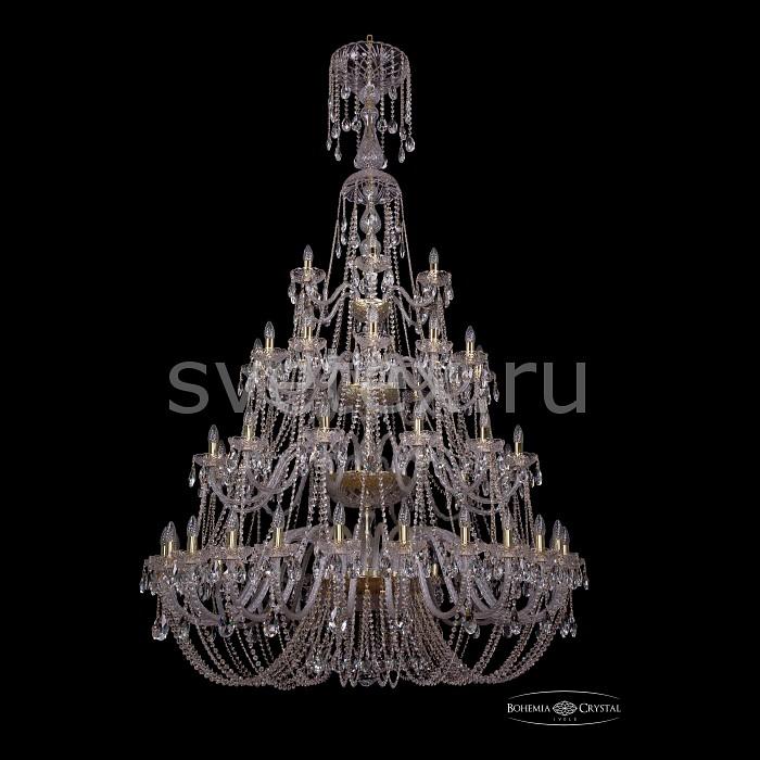 Подвесная люстра Bohemia Ivele CrystalБолее 6 ламп<br>Артикул - BI_1406_24_12_12_6_530_XL-230_4d_G,Бренд - Bohemia Ivele Crystal (Чехия),Коллекция - 1406,Гарантия, месяцы - 24,Высота, мм - 2300,Диаметр, мм - 1460,Размер упаковки, мм - 710x710x350,Тип лампы - компактная люминесцентная [КЛЛ] ИЛИнакаливания ИЛИсветодиодная [LED],Общее кол-во ламп - 54,Напряжение питания лампы, В - 220,Максимальная мощность лампы, Вт - 40,Лампы в комплекте - отсутствуют,Цвет плафонов и подвесок - неокрашенный,Тип поверхности плафонов - прозрачный,Материал плафонов и подвесок - хрусталь,Цвет арматуры - золото, неокрашенный,Тип поверхности арматуры - глянцевый, прозрачный,Материал арматуры - металл, стекло,Возможность подлючения диммера - можно, если установить лампу накаливания,Форма и тип колбы - свеча ИЛИ свеча на ветру,Тип цоколя лампы - E14,Класс электробезопасности - I,Общая мощность, Вт - 2160,Степень пылевлагозащиты, IP - 20,Диапазон рабочих температур - комнатная температура,Дополнительные параметры - способ крепления светильника к потолку - на крюке, указана высота светильники без подвеса<br>