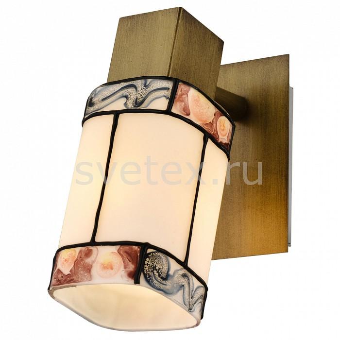Спот LussoleСпоты<br>Артикул - LSP-0219,Бренд - Lussole (Италия),Коллекция - LSP-02,Гарантия, месяцы - 24,Время изготовления, дней - 1,Длина, мм - 150,Ширина, мм - 60,Выступ, мм - 120,Тип лампы - компактная люминесцентная [КЛЛ] ИЛИнакаливания ИЛИсветодиодная [LED],Общее кол-во ламп - 1,Напряжение питания лампы, В - 220,Максимальная мощность лампы, Вт - 40,Лампы в комплекте - отсутствуют,Цвет плафонов и подвесок - белый с цветным рисунком,Тип поверхности плафонов - матовый, рельефный,Материал плафонов и подвесок - стекло,Цвет арматуры - бронза,Тип поверхности арматуры - матовый,Материал арматуры - металл,Количество плафонов - 1,Возможность подлючения диммера - можно, если установить лампу накаливания,Тип цоколя лампы - E14,Класс электробезопасности - I,Степень пылевлагозащиты, IP - 20,Диапазон рабочих температур - комнатная температура,Дополнительные параметры - поворотный светильник<br>