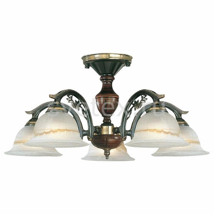 Люстра на штанге Reccagni AngeloДеревянные<br>Артикул - RA_PL_2701_5,Бренд - Reccagni Angelo (Италия),Коллекция - 2701,Гарантия, месяцы - 24,Высота, мм - 310,Диаметр, мм - 540,Тип лампы - компактная люминесцентная [КЛЛ] ИЛИнакаливания ИЛИсветодиодная [LED],Общее кол-во ламп - 5,Напряжение питания лампы, В - 220,Максимальная мощность лампы, Вт - 60,Лампы в комплекте - отсутствуют,Цвет плафонов и подвесок - белый с коричневым рисунком,Тип поверхности плафонов - матовый, рельефный,Материал плафонов и подвесок - стекло,Цвет арматуры - бронза темная, коричневый,Тип поверхности арматуры - матовый, рельефный,Материал арматуры - дерево, латунь,Количество плафонов - 5,Возможность подлючения диммера - можно, если установить лампу накаливания,Тип цоколя лампы - E27,Класс электробезопасности - I,Общая мощность, Вт - 300,Степень пылевлагозащиты, IP - 20,Диапазон рабочих температур - комнатная температура,Дополнительные параметры - способ крепления светильника к потолку - на монтажной пластине<br>