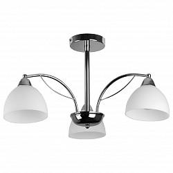 Люстра на штанге TopLightНе более 4 ламп<br>Артикул - TPL_TL3610X-03CH,Бренд - TopLight (Россия),Коллекция - Celia,Гарантия, месяцы - 24,Высота, мм - 330,Диаметр, мм - 600,Тип лампы - компактная люминесцентная [КЛЛ] ИЛИнакаливания ИЛИсветодиодная [LED],Общее кол-во ламп - 3,Напряжение питания лампы, В - 220,Максимальная мощность лампы, Вт - 60,Лампы в комплекте - отсутствуют,Цвет плафонов и подвесок - белый,Тип поверхности плафонов - матовый,Материал плафонов и подвесок - стекло,Цвет арматуры - хром,Тип поверхности арматуры - глянцевый,Материал арматуры - металл,Возможность подлючения диммера - можно, если установить лампу накаливания,Тип цоколя лампы - E14,Класс электробезопасности - I,Общая мощность, Вт - 180,Степень пылевлагозащиты, IP - 20,Диапазон рабочих температур - комнатная температура,Дополнительные параметры - способ крепления светильника к потолку - на монтажной пластине<br>