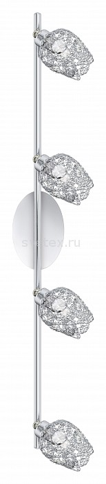 Спот EgloСпоты<br>Артикул - EG_92033,Бренд - Eglo (Австрия),Коллекция - Figu,Гарантия, месяцы - 24,Время изготовления, дней - 1,Длина, мм - 780,Ширина, мм - 95,Тип лампы - галогеновая,Общее кол-во ламп - 3,Напряжение питания лампы, В - 220,Максимальная мощность лампы, Вт - 33,Цвет лампы - белый теплый,Лампы в комплекте - галогеновые G9,Цвет плафонов и подвесок - неокрашенный, хром,Тип поверхности плафонов - глянцевый,Материал плафонов и подвесок - хрусталь, металл,Цвет арматуры - хром,Тип поверхности арматуры - глянцевый,Материал арматуры - металл,Количество плафонов - 3,Возможность подлючения диммера - можно,Форма и тип колбы - пальчиковая,Тип цоколя лампы - G9,Цветовая температура, K - 2800 - 3200 K,Экономичнее лампы накаливания - на 50 %,Класс электробезопасности - I,Общая мощность, Вт - 99,Степень пылевлагозащиты, IP - 20,Диапазон рабочих температур - комнатная температура,Дополнительные параметры - поворотный светильник<br>