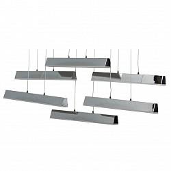 Подвесной светильник RegenBogen LIFEСветодиодные<br>Артикул - MW_661011006,Бренд - RegenBogen LIFE (Германия),Коллекция - Платлинг,Гарантия, месяцы - 24,Высота, мм - 1600,Тип лампы - светодиодная [LED],Общее кол-во ламп - 6,Максимальная мощность лампы, Вт - 5,Лампы в комплекте - светодиодные [LED],Цвет плафонов и подвесок - хром,Тип поверхности плафонов - глянцевый,Материал плафонов и подвесок - металл,Цвет арматуры - хром,Тип поверхности арматуры - глянцевый,Материал арматуры - металл,Возможность подлючения диммера - нельзя,Класс электробезопасности - I,Общая мощность, Вт - 30,Степень пылевлагозащиты, IP - 20,Диапазон рабочих температур - комнатная температура,Дополнительные параметры - способ крепления светильника к потолоку - на монтажной пластине<br>