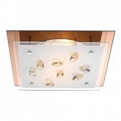 Накладной светильник GloboКвадратные<br>Артикул - GB_40412-2,Бренд - Globo (Австрия),Коллекция - Ayana,Гарантия, месяцы - 24,Высота, мм - 85,Тип лампы - компактная люминесцентная [КЛЛ] ИЛИнакаливания ИЛИсветодиодная [LED],Общее кол-во ламп - 2,Напряжение питания лампы, В - 230,Максимальная мощность лампы, Вт - 40,Лампы в комплекте - отсутствуют,Цвет плафонов и подвесок - белый с рисунком, шампань,Тип поверхности плафонов - матовый, прозрачный,Материал плафонов и подвесок - стекло, хрусталь K5,Цвет арматуры - хром,Тип поверхности арматуры - глянцевый,Материал арматуры - металл,Количество плафонов - 1,Возможность подлючения диммера - нельзя,Тип цоколя лампы - E27,Класс электробезопасности - I,Общая мощность, Вт - 80,Степень пылевлагозащиты, IP - 20,Диапазон рабочих температур - комнатная температура<br>