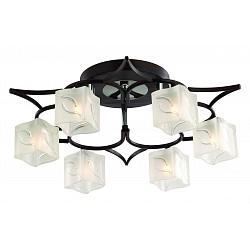 Люстра на штанге Odeon Light5 или 6 ламп<br>Артикул - OD_2538_6C,Бренд - Odeon Light (Италия),Коллекция - Harta,Гарантия, месяцы - 24,Высота, мм - 190,Диаметр, мм - 550,Тип лампы - галогеновая,Общее кол-во ламп - 6,Напряжение питания лампы, В - 220,Максимальная мощность лампы, Вт - 40,Лампы в комплекте - галогеновые G9,Цвет плафонов и подвесок - неокрашенный с рисунком,Тип поверхности плафонов - матовый, рельефный,Материал плафонов и подвесок - стекло,Цвет арматуры - хром, венге,Тип поверхности арматуры - глянцевый,Материал арматуры - металл,Возможность подлючения диммера - можно,Форма и тип колбы - пальчиковая,Тип цоколя лампы - G9,Класс электробезопасности - I,Общая мощность, Вт - 240,Степень пылевлагозащиты, IP - 20,Диапазон рабочих температур - комнатная температура<br>