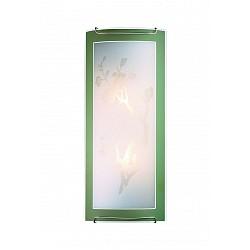 Накладной светильник SonexСветодиодные<br>Артикул - SN_1645,Бренд - Sonex (Россия),Коллекция - Sakura,Гарантия, месяцы - 24,Время изготовления, дней - 1,Тип лампы - компактная люминесцентная [КЛЛ] ИЛИнакаливания ИЛИсветодиодная [LED],Общее кол-во ламп - 2,Напряжение питания лампы, В - 220,Максимальная мощность лампы, Вт - 60,Лампы в комплекте - отсутствуют,Цвет плафонов и подвесок - белый с рисунком и зеленой каймой,Тип поверхности плафонов - матовый,Материал плафонов и подвесок - стекло,Цвет арматуры - хром,Тип поверхности арматуры - глянцевый,Материал арматуры - металл,Возможность подлючения диммера - можно, если установить лампу накаливания,Тип цоколя лампы - E27,Класс электробезопасности - I,Общая мощность, Вт - 120,Степень пылевлагозащиты, IP - 20,Диапазон рабочих температур - комнатная температура<br>