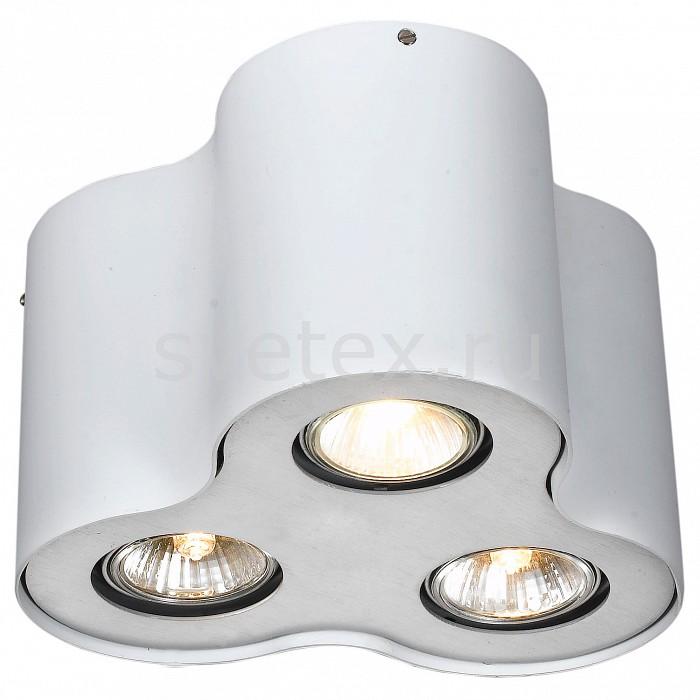 Накладной светильник Arte LampСветодиодные<br>Артикул - AR_A5633PL-3WH,Бренд - Arte Lamp (Италия),Коллекция - Falcon,Гарантия, месяцы - 24,Высота, мм - 150,Диаметр, мм - 220,Размер упаковки, мм - 130x200x210,Тип лампы - галогеновая ИЛИсветодиодная [LED],Общее кол-во ламп - 3,Напряжение питания лампы, В - 220,Максимальная мощность лампы, Вт - 50,Лампы в комплекте - отсутствуют,Цвет арматуры - белый,Тип поверхности арматуры - матовый,Материал арматуры - металл,Форма и тип колбы - полусферическая с рефлектором,Тип цоколя лампы - GU10,Класс электробезопасности - I,Общая мощность, Вт - 150,Степень пылевлагозащиты, IP - 20,Диапазон рабочих температур - комнатная температура<br>