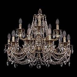 Подвесная люстра Bohemia Ivele CrystalБолее 6 ламп<br>Артикул - BI_1702_10_5_265_181_C_GB,Бренд - Bohemia Ivele Crystal (Чехия),Коллекция - 1702,Гарантия, месяцы - 24,Высота, мм - 580,Диаметр, мм - 720,Размер упаковки, мм - 640x640x320,Тип лампы - компактная люминесцентная [КЛЛ] ИЛИнакаливания ИЛИсветодиодная [LED],Общее кол-во ламп - 15,Напряжение питания лампы, В - 220,Максимальная мощность лампы, Вт - 40,Лампы в комплекте - отсутствуют,Цвет плафонов и подвесок - неокрашенный,Тип поверхности плафонов - прозрачный,Материал плафонов и подвесок - хрусталь,Цвет арматуры - золото черненое,Тип поверхности арматуры - глянцевый, рельефный,Материал арматуры - латунь,Возможность подлючения диммера - можно, если установить лампу накаливания,Форма и тип колбы - свеча ИЛИ свеча на ветру,Тип цоколя лампы - E14,Класс электробезопасности - I,Общая мощность, Вт - 600,Степень пылевлагозащиты, IP - 20,Диапазон рабочих температур - комнатная температура,Дополнительные параметры - способ крепления светильника к потолку - на крюке, указана высота светильника без подвеса<br>