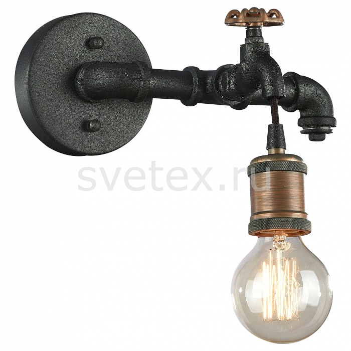 Бра FavouriteНастенные светильники<br>Артикул - FV_1581-1W,Бренд - Favourite (Германия),Коллекция - Faucet,Гарантия, месяцы - 24,Ширина, мм - 290,Высота, мм - 190,Выступ, мм - 170,Тип лампы - компактная люминесцентная [КЛЛ] ИЛИнакаливания ИЛИсветодиодная [LED],Общее кол-во ламп - 1,Напряжение питания лампы, В - 220,Максимальная мощность лампы, Вт - 60,Лампы в комплекте - отсутствуют,Цвет арматуры - бронза, черный,Тип поверхности арматуры - матовый,Материал арматуры - металл,Возможность подлючения диммера - можно, если установить лампу накаливания,Тип цоколя лампы - E27,Класс электробезопасности - I,Степень пылевлагозащиты, IP - 20,Диапазон рабочих температур - комнатная температура,Дополнительные параметры - способ крепления светильника на стене – на монтажной пластине, светильник предназначен для использования со скрытой проводкой<br>