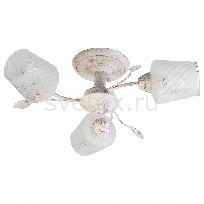 Люстра на штанге TopLightЛюстры<br>Артикул - TPL_TL7150X-03WG,Бренд - TopLight (Россия),Коллекция - Pamela,Гарантия, месяцы - 24,Высота, мм - 160,Диаметр, мм - 500,Размер упаковки, мм - 250x180x430,Тип лампы - компактная люминесцентная [КЛЛ] ИЛИнакаливания ИЛИсветодиодная [LED],Общее кол-во ламп - 3,Напряжение питания лампы, В - 220,Максимальная мощность лампы, Вт - 60,Лампы в комплекте - отсутствуют,Цвет плафонов и подвесок - белый полосатый с неокрашенным рисунком,Тип поверхности плафонов - матовый, прозрачный,Материал плафонов и подвесок - стекло, хрусталь,Цвет арматуры - белый с золотой патиной,Тип поверхности арматуры - глянцевый, матовый,Материал арматуры - металл,Количество плафонов - 3,Возможность подлючения диммера - можно, если установить лампу накаливания,Тип цоколя лампы - E14,Класс электробезопасности - I,Общая мощность, Вт - 180,Степень пылевлагозащиты, IP - 20,Диапазон рабочих температур - комнатная температура,Дополнительные параметры - способ крепления светильника к потолку - на монтажной пластине<br>