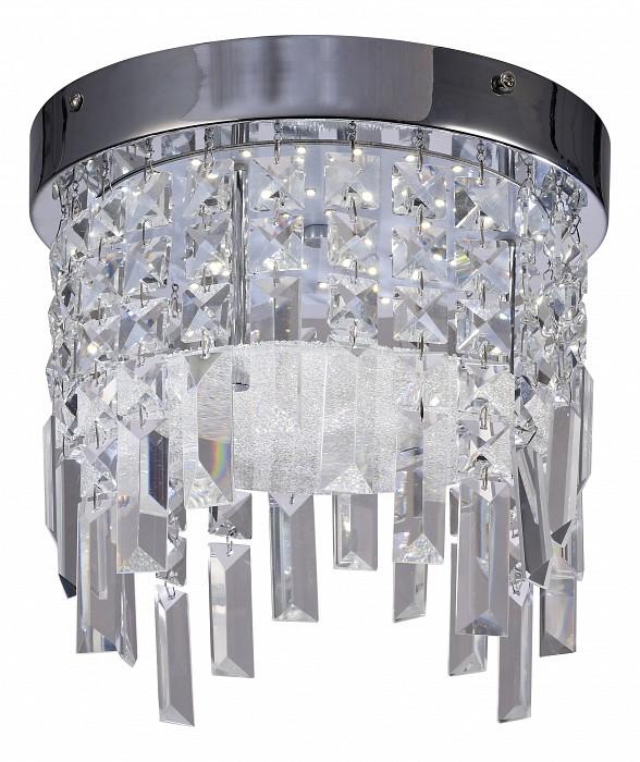 Накладной светильник MantraСветодиодные<br>Артикул - MN_5522,Бренд - Mantra (Испания),Коллекция - Kawai,Гарантия, месяцы - 24,Высота, мм - 240,Диаметр, мм - 350,Тип лампы - светодиодная [LED],Общее кол-во ламп - 1,Напряжение питания лампы, В - 220,Максимальная мощность лампы, Вт - 18,Цвет лампы - белый,Лампы в комплекте - светодиодная [LED],Цвет плафонов и подвесок - неокрашенный,Тип поверхности плафонов - прозрачный,Материал плафонов и подвесок - стекло,Цвет арматуры - хром,Тип поверхности арматуры - глянцевый,Материал арматуры - металл,Возможность подлючения диммера - нельзя,Цветовая температура, K - 4000 K,Световой поток, лм - 1400,Экономичнее лампы накаливания - в 6.2 раза,Светоотдача, лм/Вт - 78,Класс электробезопасности - I,Степень пылевлагозащиты, IP - 20,Диапазон рабочих температур - комнатная температура,Дополнительные параметры - способ крепления светильника к потолку – на монтажной пластине<br>