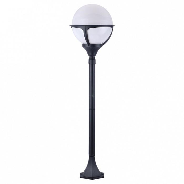 Фото Наземный высокий светильник Arte Lamp Monaco A1496PA-1BK