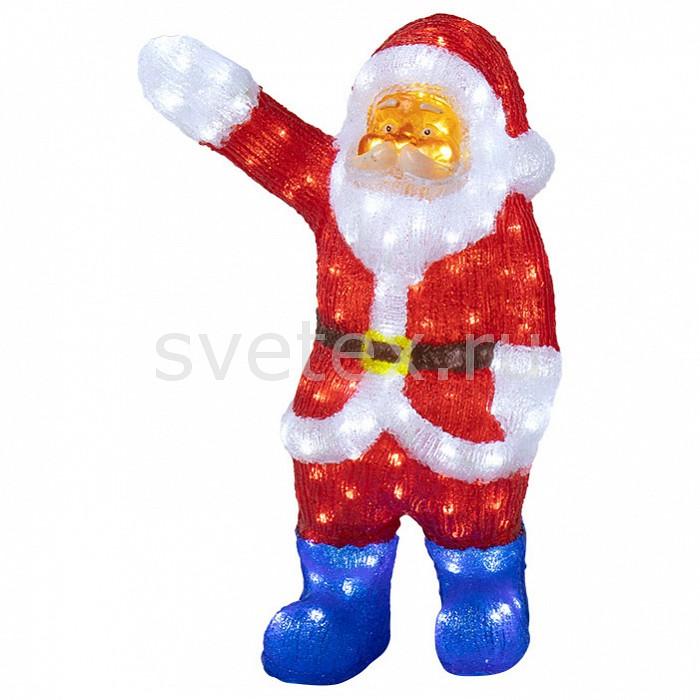 Фото Дед Мороз световой Неон-Найт Санта Клаус приветствует 513-272