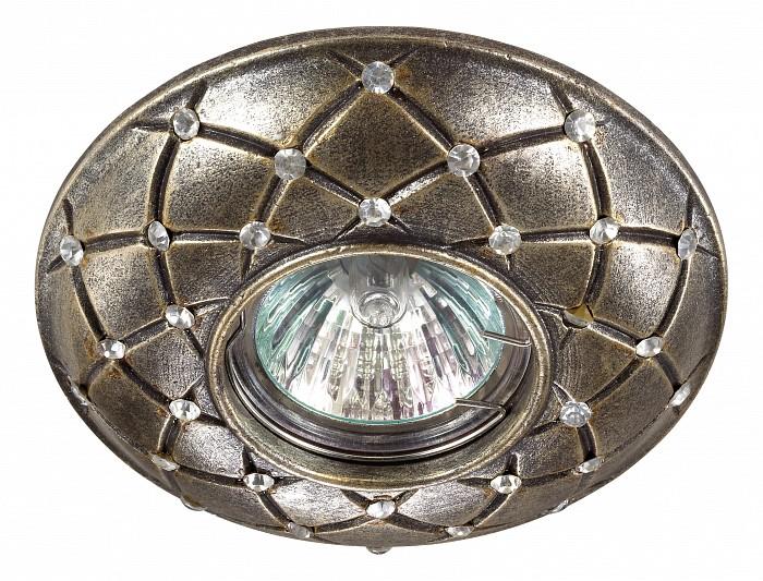 Встраиваемый светильник NovotechВстраиваемые светильники<br>Артикул - NV_370126,Бренд - Novotech (Венгрия),Коллекция - Pattern,Гарантия, месяцы - 24,Время изготовления, дней - 1,Глубина, мм - 17,Диаметр, мм - 115,Размер врезного отверстия, мм - 65,Тип лампы - галогеновая ИЛИсветодиодная [LED],Общее кол-во ламп - 1,Напряжение питания лампы, В - 12,Максимальная мощность лампы, Вт - 50,Лампы в комплекте - отсутствуют,Цвет арматуры - бронза,Тип поверхности арматуры - матовый, рельефный,Материал арматуры - камень песчаник,Необходимые компоненты - трансформатор 12В,Компоненты, входящие в комплект - нет,Форма и тип колбы - полусферическая с рефлектором,Тип цоколя лампы - GX5.3,Класс электробезопасности - III,Напряжение питания, В - 220,Степень пылевлагозащиты, IP - 20,Диапазон рабочих температур - комнатная температура<br>