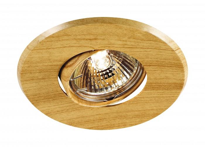 Фото Встраиваемый светильник Novotech Wood 369709