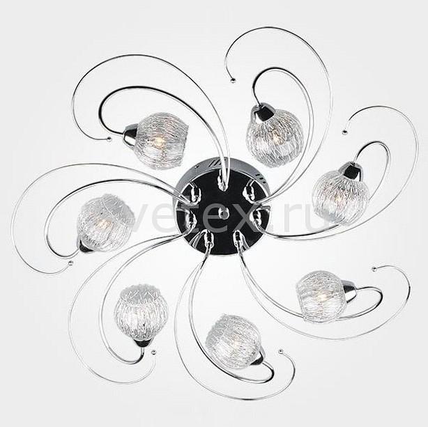 Потолочная люстра EurosvetСветодиодные<br>Артикул - EV_78730,Бренд - Eurosvet (Китай),Коллекция - 80101,Гарантия, месяцы - 24,Высота, мм - 200,Диаметр, мм - 600,Тип лампы - галогеновая ИЛИсветодиодная [LED],Общее кол-во ламп - 7,Напряжение питания лампы, В - 12,Максимальная мощность лампы, Вт - 20,Лампы в комплекте - отсутствуют,Цвет плафонов и подвесок - неокрашенный,Тип поверхности плафонов - прозрачный, рельефный,Материал плафонов и подвесок - стекло,Цвет арматуры - хром,Тип поверхности арматуры - глянцевый,Материал арматуры - металл,Количество плафонов - 7,Возможность подлючения диммера - можно, если установить галогеновую лампу,Компоненты, входящие в комплект - трансформатор 12В,Форма и тип колбы - пальчиковая,Тип цоколя лампы - G4,Класс электробезопасности - I,Напряжение питания, В - 220,Общая мощность, Вт - 140,Степень пылевлагозащиты, IP - 20,Диапазон рабочих температур - комнатная температура,Дополнительные параметры - способ крепления светильника к потолку - на монтажной пластине<br>