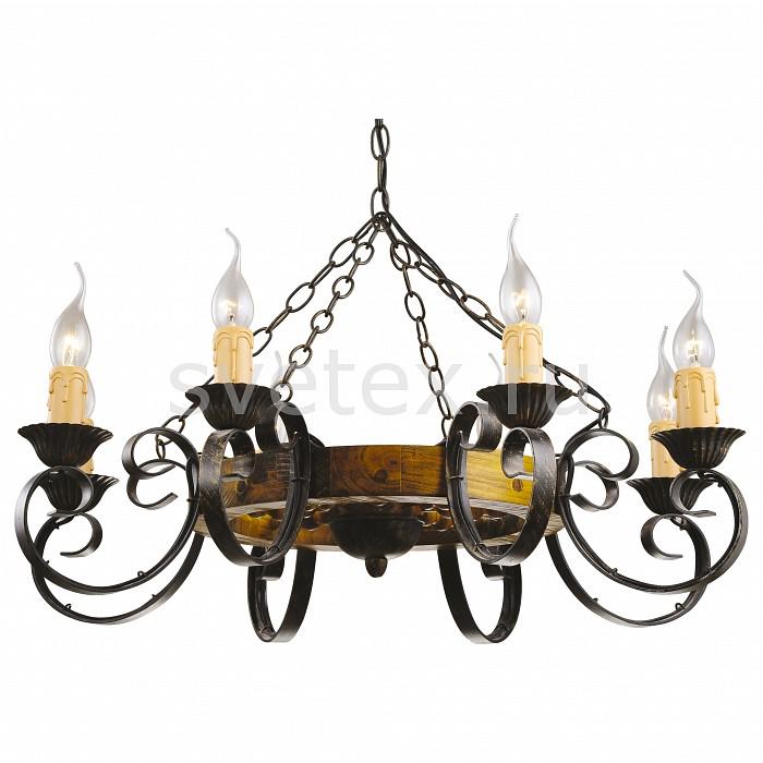 Фото Подвесная люстра Arte Lamp Taverna A9520LM-8BR