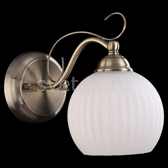 Бра EurosvetСтеклянный плафон<br>Артикул - EV_7349,Бренд - Eurosvet (Китай),Коллекция - 7704,Гарантия, месяцы - 24,Ширина, мм - 120,Высота, мм - 260,Диаметр, мм - 200,Тип лампы - компактная люминесцентная [КЛЛ] ИЛИнакаливания ИЛИсветодиодная [LED],Общее кол-во ламп - 1,Напряжение питания лампы, В - 220,Максимальная мощность лампы, Вт - 60,Лампы в комплекте - отсутствуют,Цвет плафонов и подвесок - белый,Тип поверхности плафонов - матовый, рельефный,Материал плафонов и подвесок - стекло,Цвет арматуры - бронза античная,Тип поверхности арматуры - глянцевый,Материал арматуры - металл,Количество плафонов - 1,Тип цоколя лампы - E27,Класс электробезопасности - I,Степень пылевлагозащиты, IP - 20,Диапазон рабочих температур - комнатная температура,Дополнительные параметры - светильник предназначен для использования со скрытой проводкой<br>