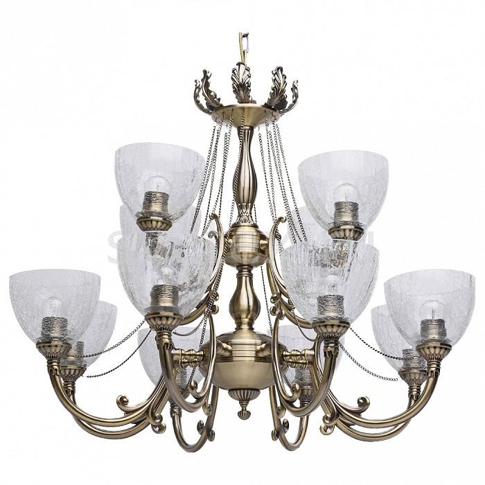 Подвесная люстра MW-LightЛюстры<br>Артикул - MW_481011712,Бренд - MW-Light (Германия),Коллекция - Аманда,Гарантия, месяцы - 24,Высота, мм - 810-1050,Диаметр, мм - 800,Тип лампы - компактная люминесцентная [КЛЛ] ИЛИнакаливания ИЛИсветодиодная [LED],Общее кол-во ламп - 12,Напряжение питания лампы, В - 220,Максимальная мощность лампы, Вт - 60,Лампы в комплекте - отсутствуют,Цвет плафонов и подвесок - неокрашенный,Тип поверхности плафонов - прозрачный,Материал плафонов и подвесок - стекло,Цвет арматуры - латунь античная,Тип поверхности арматуры - матовый,Материал арматуры - металл,Количество плафонов - 12,Возможность подлючения диммера - можно, если установить лампу накаливания,Тип цоколя лампы - E27,Класс электробезопасности - I,Общая мощность, Вт - 720,Степень пылевлагозащиты, IP - 20,Диапазон рабочих температур - комнатная температура,Дополнительные параметры - способ крепления светильника к потолоку - на крюке, регулируется по высоте<br>