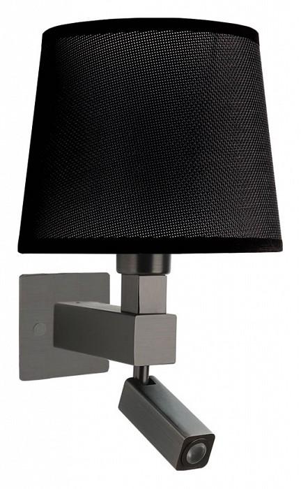 Бра с подсветкой MantraСветодиодные<br>Артикул - MN_5233_5238_5171,Бренд - Mantra (Испания),Коллекция - Bahia,Гарантия, месяцы - 24,Ширина, мм - 200,Высота, мм - 334,Выступ, мм - 215,Тип лампы - компактная люминесцентная [КЛЛ], светодиодная [LED] ИЛИсветодиодные [LED],Общее кол-во ламп - 2,Напряжение питания лампы, В - 220,Максимальная мощность лампы, Вт - 3, 13,Цвет лампы - белый теплый,Лампы в комплекте - светодиодная [LED],Цвет плафонов и подвесок - черный,Тип поверхности плафонов - матовый,Материал плафонов и подвесок - текстиль,Цвет арматуры - бронза,Тип поверхности арматуры - матовый,Материал арматуры - металл,Количество плафонов - 1,Наличие выключателя, диммера или пульта ДУ - выключатель,Тип цоколя лампы - E27,Цветовая температура, K - 3000 K,Световой поток, лм - 200,Экономичнее лампы накаливания - в 8.3 раза,Светоотдача, лм/Вт - 67,Класс электробезопасности - I,Общая мощность, Вт - 16,Степень пылевлагозащиты, IP - 20,Диапазон рабочих температур - комнатная температура,Дополнительные параметры - способ крепления светильника на стене – на монтажной пластине, светильник предназначен для использования со скрытой проводкой, поворотный светильник, размер основания 100x100 мм<br>