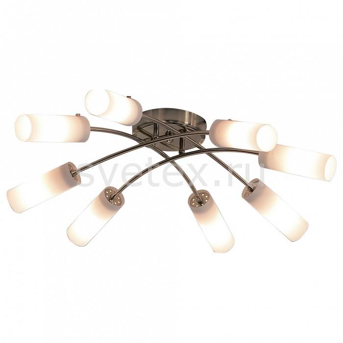 Потолочная люстра CitiluxЛюстры<br>Артикул - CL122182,Бренд - Citilux (Дания),Коллекция - Новелла,Гарантия, месяцы - 24,Время изготовления, дней - 1,Высота, мм - 160,Диаметр, мм - 760,Размер упаковки, мм - 630x350x155,Тип лампы - компактная люминесцентная [КЛЛ] ИЛИнакаливания ИЛИсветодиодная [LED],Общее кол-во ламп - 8,Напряжение питания лампы, В - 220,Максимальная мощность лампы, Вт - 60,Лампы в комплекте - отсутствуют,Цвет плафонов и подвесок - белый,Тип поверхности плафонов - матовый,Материал плафонов и подвесок - стекло,Цвет арматуры - золото,Тип поверхности арматуры - глянцевый,Материал арматуры - металл,Количество плафонов - 8,Возможность подлючения диммера - можно, если установить лампу накаливания,Тип цоколя лампы - E14,Класс электробезопасности - I,Общая мощность, Вт - 480,Степень пылевлагозащиты, IP - 20,Диапазон рабочих температур - комнатная температура<br>