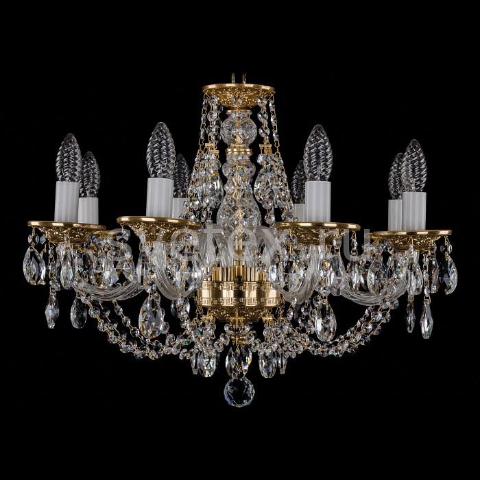 Фото Подвесная люстра Bohemia Ivele Crystal 1606 1606/8/195/G