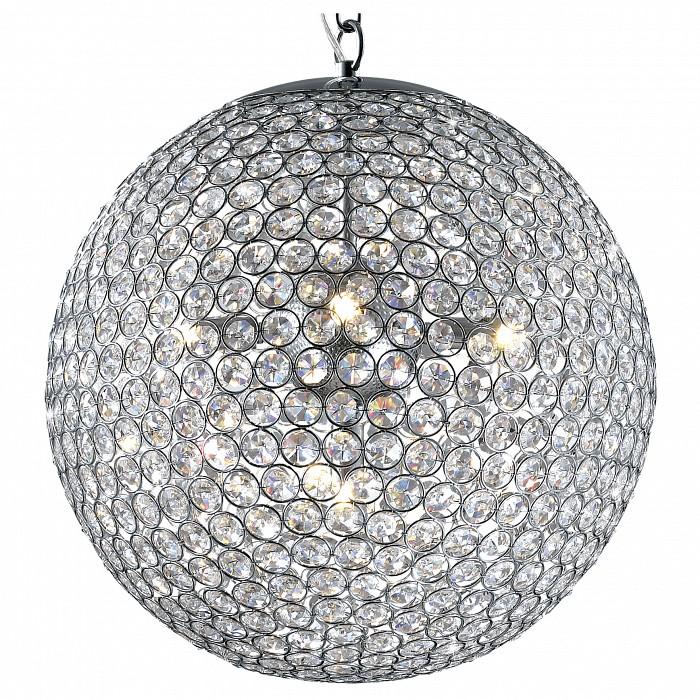 Подвесной светильник Odeon LightПодвесные светильники<br>Артикул - OD_2704_5,Бренд - Odeon Light (Италия),Коллекция - Tola,Гарантия, месяцы - 24,Время изготовления, дней - 1,Высота, мм - 1400,Диаметр, мм - 400,Тип лампы - галогеновая,Общее кол-во ламп - 5,Напряжение питания лампы, В - 220,Максимальная мощность лампы, Вт - 40,Цвет лампы - белый теплый,Лампы в комплекте - галогеновые G9,Цвет плафонов и подвесок - неокрашенный, хром,Тип поверхности плафонов - прозрачный,Материал плафонов и подвесок - металл, хрусталь,Цвет арматуры - хром,Тип поверхности арматуры - глянцевый,Материал арматуры - металл,Количество плафонов - 1,Возможность подлючения диммера - можно,Форма и тип колбы - пальчиковая,Тип цоколя лампы - G9,Цветовая температура, K - 2800 - 3200 K,Экономичнее лампы накаливания - на 50%,Класс электробезопасности - I,Общая мощность, Вт - 200,Степень пылевлагозащиты, IP - 20,Диапазон рабочих температур - комнатная температура<br>