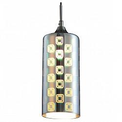 Подвесной светильник ST-LuceБарные<br>Артикул - SL979.043.01,Бренд - ST-Luce (Китай),Коллекция - SL979,Гарантия, месяцы - 24,Высота, мм - 300-1200,Диаметр, мм - 120,Размер упаковки, мм - 1020х620х330,Тип лампы - компактная люминесцентная [КЛЛ] ИЛИнакаливания ИЛИсветодиодная [LED],Общее кол-во ламп - 1,Напряжение питания лампы, В - 220,Максимальная мощность лампы, Вт - 40,Лампы в комплекте - отсутствуют,Цвет плафонов и подвесок - хром с рисунком,Тип поверхности плафонов - глянцевый,Материал плафонов и подвесок - стекло,Цвет арматуры - хром,Тип поверхности арматуры - глянцевый,Материал арматуры - металл,Возможность подлючения диммера - можно, если установить лампу накаливания,Тип цоколя лампы - E14,Класс электробезопасности - I,Степень пылевлагозащиты, IP - 20,Диапазон рабочих температур - комнатная температура,Дополнительные параметры - регулируется по высоте, способ крепления светильника к потолку – на монтажной пластине,  3D рисунок на стекле<br>