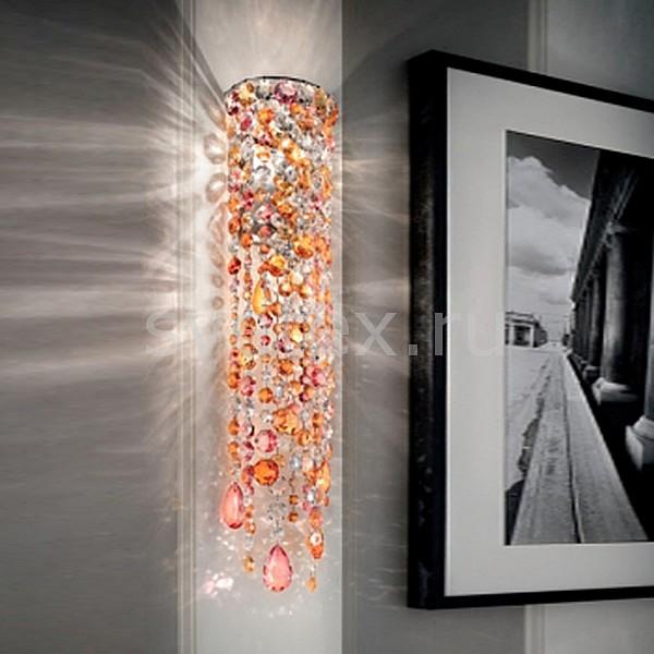 Накладной светильник MasieroСветодиодные<br>Артикул - MS_VE_892_A2_MULTI,Бренд - Masiero (Италия),Коллекция - VE 3,Гарантия, месяцы - 24,Время изготовления, дней - 30,Ширина, мм - 150,Высота, мм - 700,Выступ, мм - 120,Тип лампы - компактная люминесцентная [КЛЛ] ИЛИнакаливания ИЛИсветодиодная  [LED],Общее кол-во ламп - 2,Напряжение питания лампы, В - 220,Максимальная мощность лампы, Вт - 60,Лампы в комплекте - отсутствуют,Цвет плафонов и подвесок - неокрашенный, оранжевый, розовый,Тип поверхности плафонов - прозрачный,Материал плафонов и подвесок - хрусталь,Цвет арматуры - хром,Тип поверхности арматуры - глянцевый, металлик,Материал арматуры - металл,Возможность подлючения диммера - можно, если установить лампу накаливания,Тип цоколя лампы - E14,Класс электробезопасности - I,Общая мощность, Вт - 120,Степень пылевлагозащиты, IP - 20,Диапазон рабочих температур - комнатная температура,Дополнительные параметры - способ крепления светильника на стене – на монтажной пластине, светильник предназначен для использования со скрытой проводкой<br>